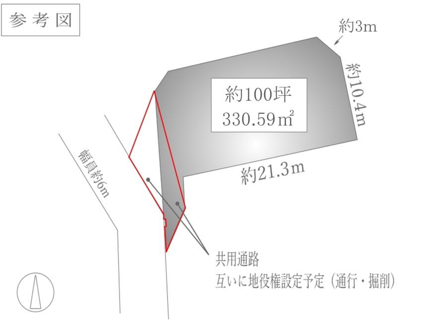 中軽井沢参考図