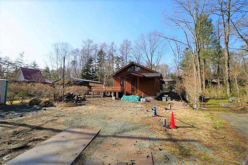 軽井沢 新築別荘