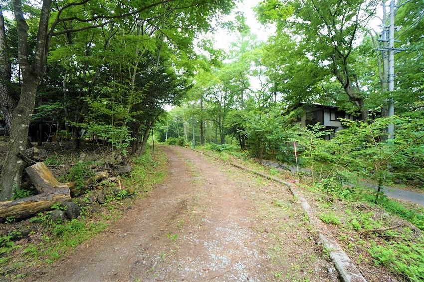 軽井沢 追分文化村別荘地