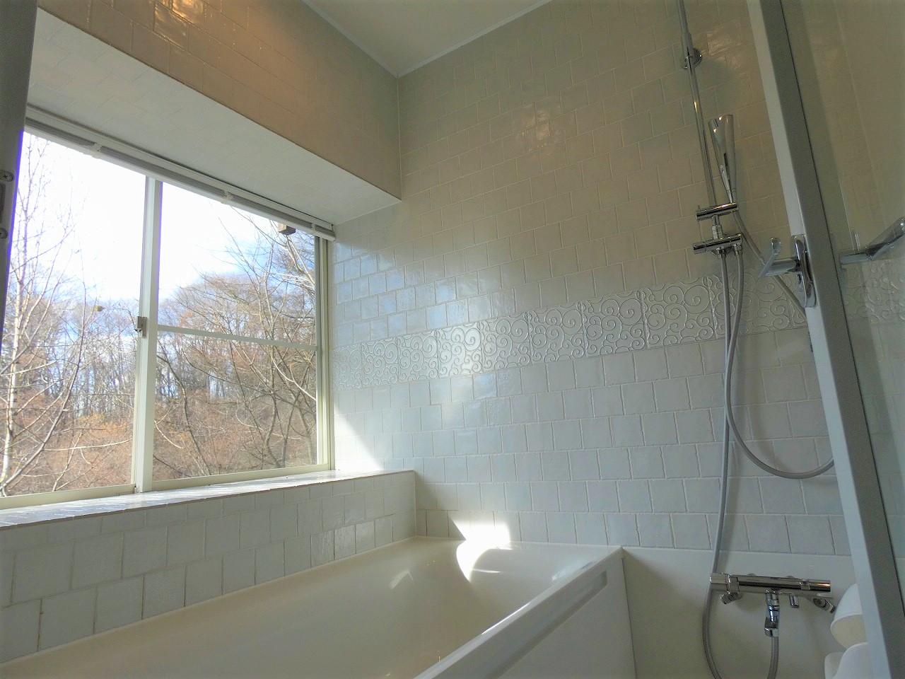 軽井沢 浴室
