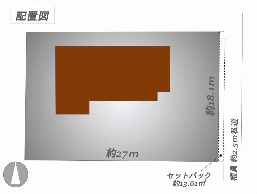 軽井沢 千ヶ滝 配置