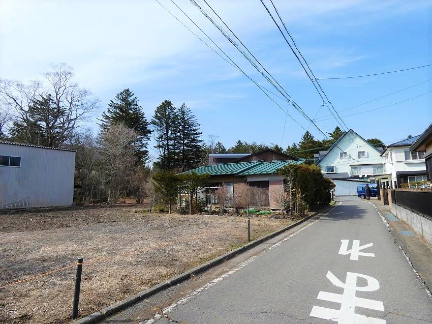 軽井沢駅徒歩圏 土地
